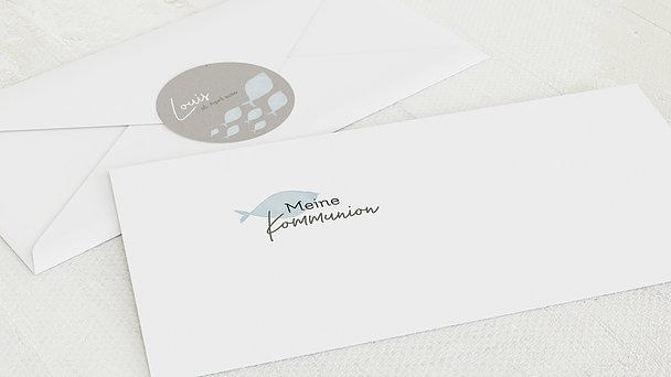 Umschlag mit Design Kommunion - Frisch Gewagt