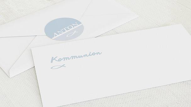 Umschlag mit Design Kommunion - Meine Kommunion
