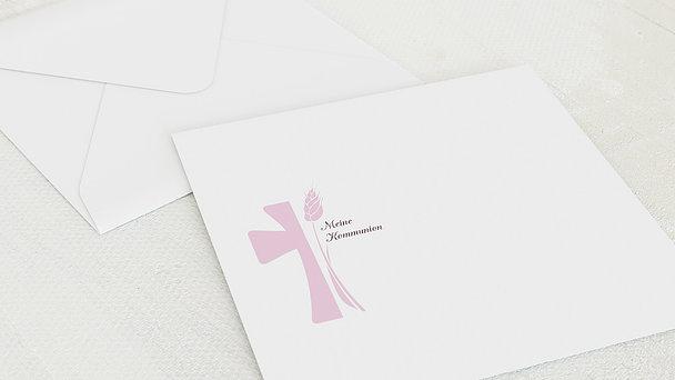 Umschlag mit Design Kommunion - Kreuzung