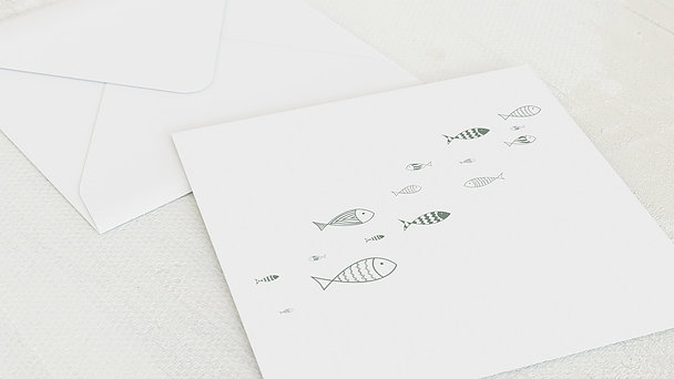 Umschlag mit Design Kommunion - Ausschwärmen