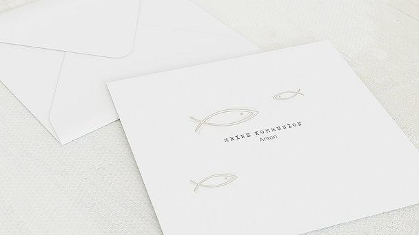 Umschlag mit Design Kommunion - Schwarm Kommunion