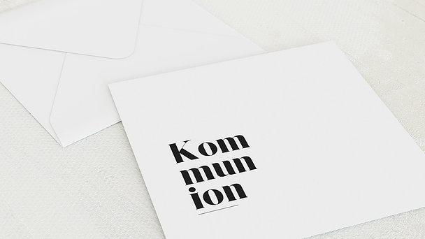 Umschlag mit Design Kommunion - Das große Ereignis Kommunion