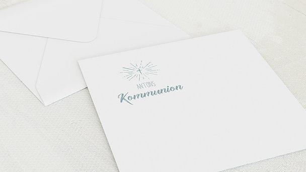Umschlag mit Design Kommunion - Ankündigung