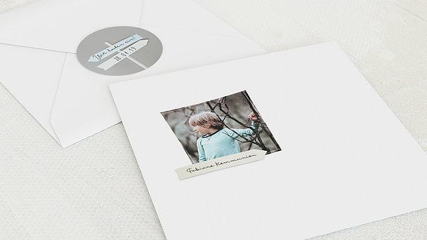 Umschlag mit Design Kommunion - Wegweiser