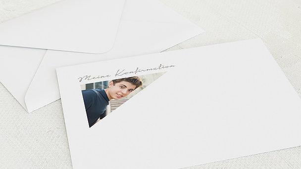 Umschlag mit Design Konfirmation - Flic Flac