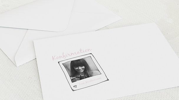 Umschlag mit Design Konfirmation - Neuanfang
