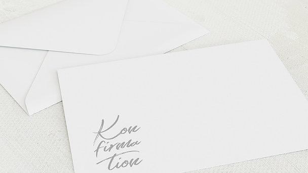 Umschlag mit Design Konfirmation - Modern faith