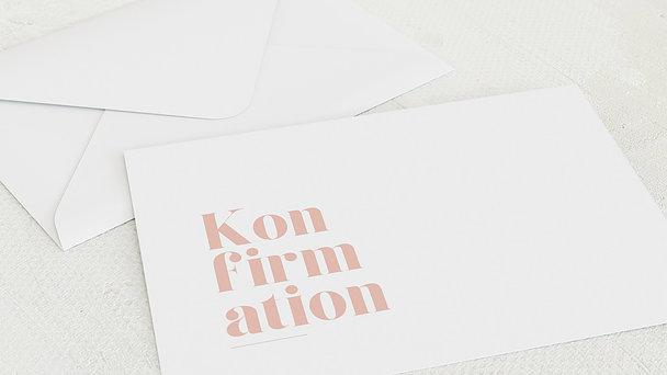 Umschlag mit Design Konfirmation - Das große Ereignis Konfirmation