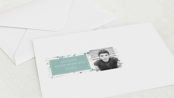Umschlag mit Design Konfirmation - Konfirmations-Impression