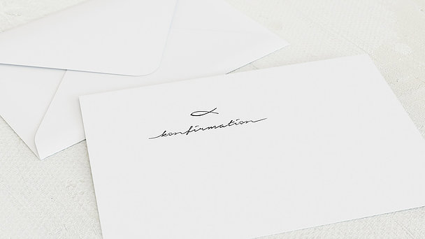 Umschlag mit Design Konfirmation - Liebevolle Konfirmation