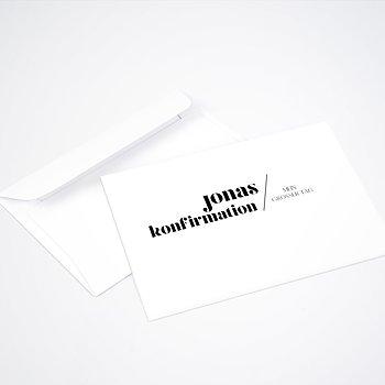 Umschlag mit Design Konfirmation - Diem