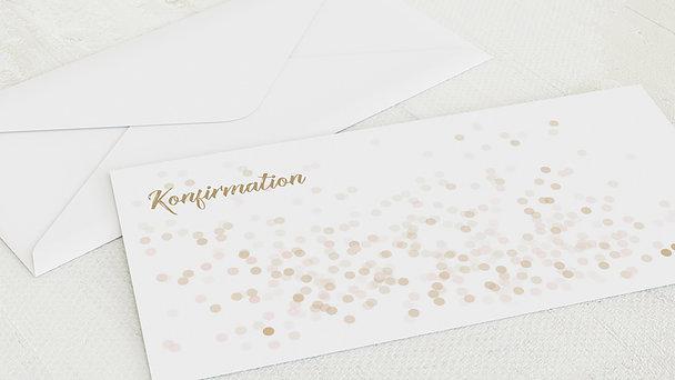 Umschlag mit Design Konfirmation - Elfenstaub