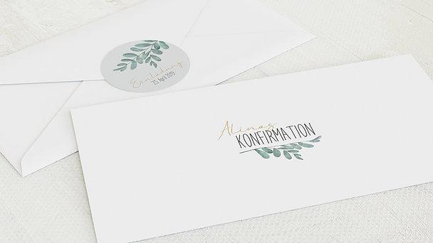 Umschlag mit Design Konfirmation - Meine Zeremonie