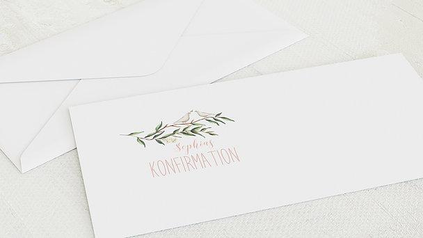 Umschlag mit Design Konfirmation - Konfirmationkranz