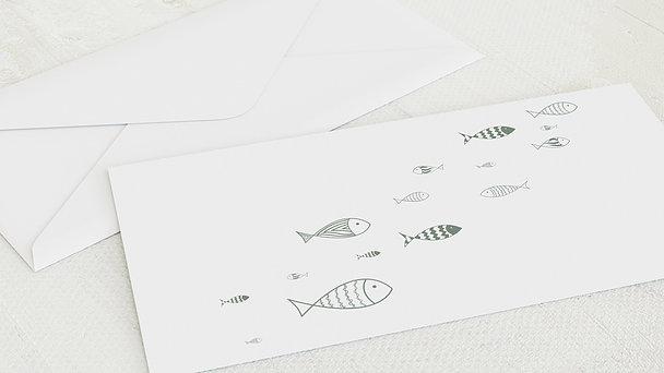 Umschlag mit Design Konfirmation - Ausschwärmen
