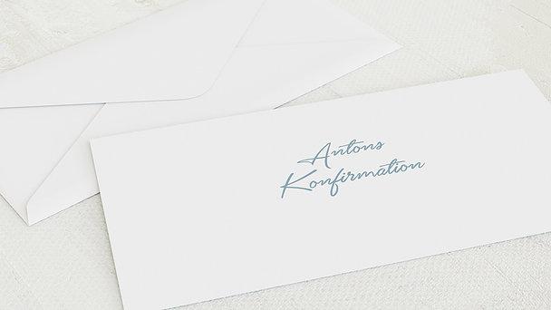 Umschlag mit Design Konfirmation - Ganz groß