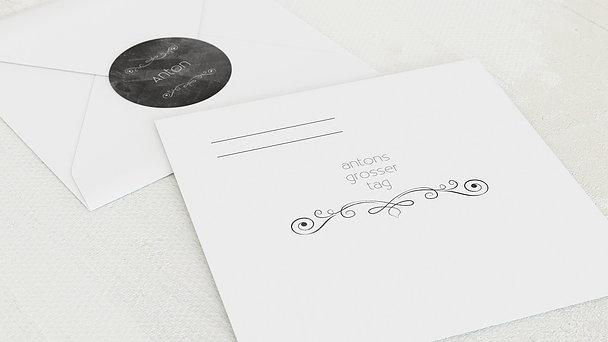 Umschlag mit Design Konfirmation - Konfirmationstafel