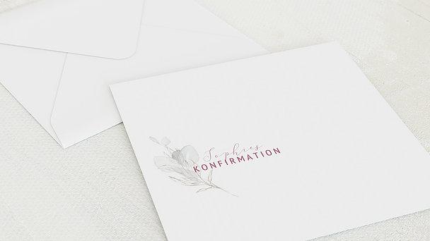 Umschlag mit Design Konfirmation - Sprössling