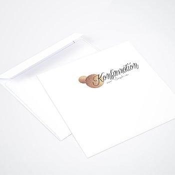Umschlag mit Design Konfirmation - Glanzmoment