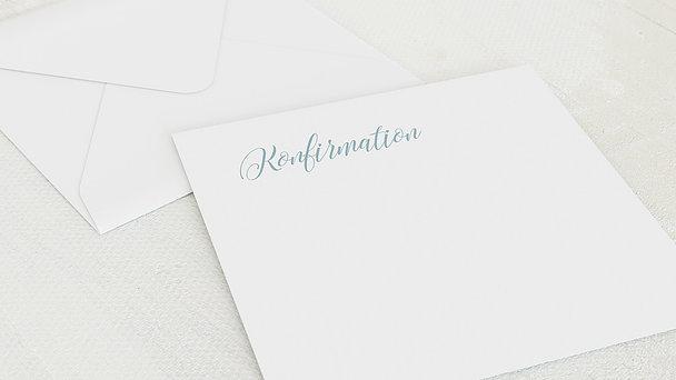 Umschlag mit Design Konfirmation - Zauberlicht Konfirmation
