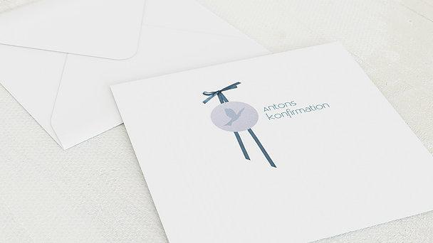 Umschlag mit Design Konfirmation - Kraftvoll