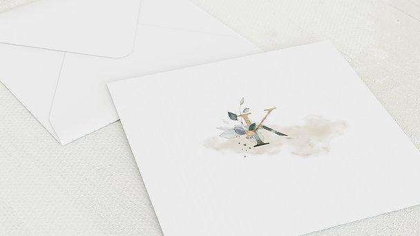 Umschlag mit Design Konfirmation - Glaube und Erfüllung