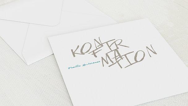 Umschlag mit Design Konfirmation - Eigener Weg
