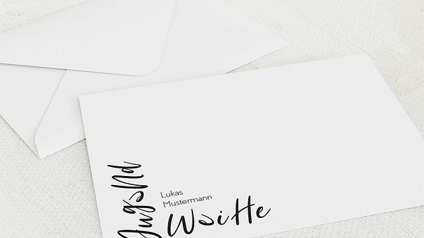 Umschlag mit Design Jugendweihe - Like streetart