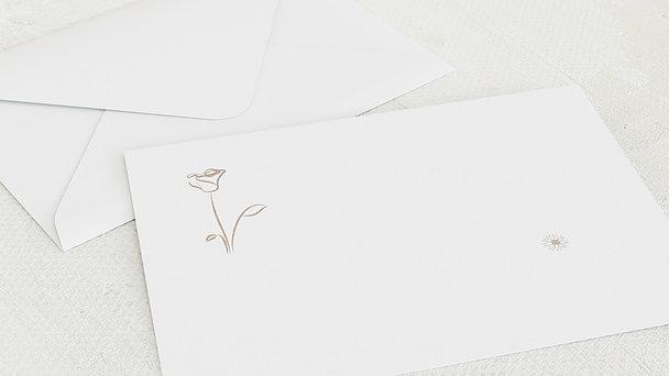 Umschlag mit Design Jugendweihe - Meine Vintage Karte