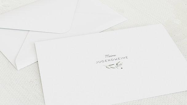 Umschlag mit Design Jugendweihe - Wildflowers