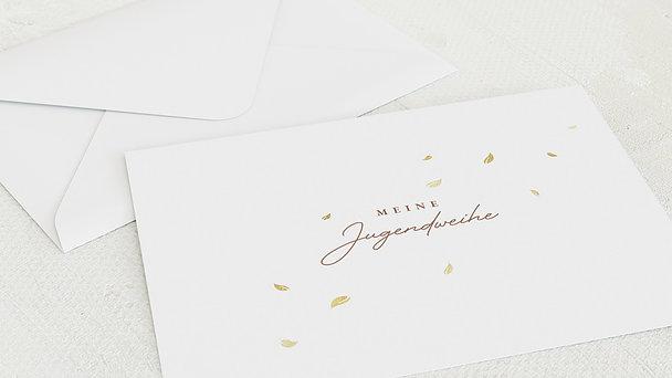 Umschlag mit Design Jugendweihe - Kräftige Wurzeln