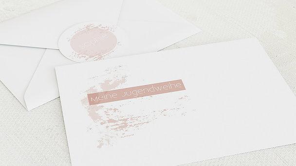 Umschlag mit Design Jugendweihe - Der größte Tag