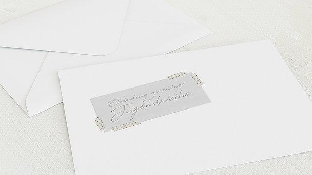 Umschlag mit Design Jugendweihe - Mein Tagebuch
