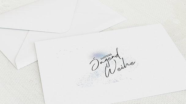 Umschlag mit Design Jugendweihe - Zauberstaub