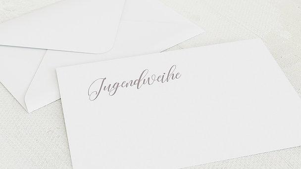 Umschlag mit Design Jugendweihe - Zauberlicht Jugendweihe