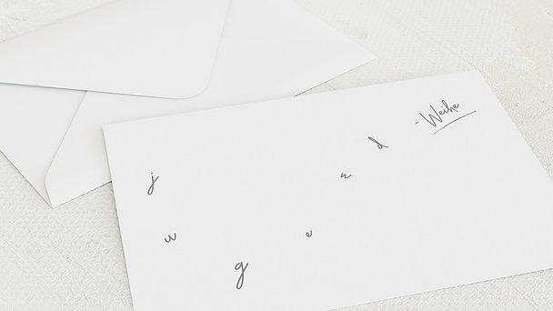 Umschlag mit Design Jugendweihe - Tschüss Kindheit