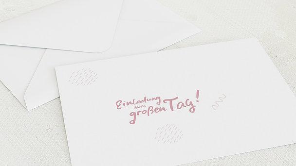 Umschlag mit Design Jugendweihe - Wellenenergie