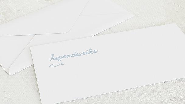 Umschlag mit Design Jugendweihe - Meine Jugendweihe