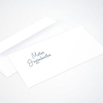 Umschlag mit Design Jugendweihe - So schnell groß