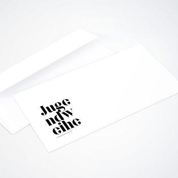 Umschlag mit Design Jugendweihe - Das große Ereignis Jugendweihe