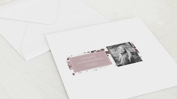 Umschlag mit Design Jugendweihe - Jugendweihe-Impression