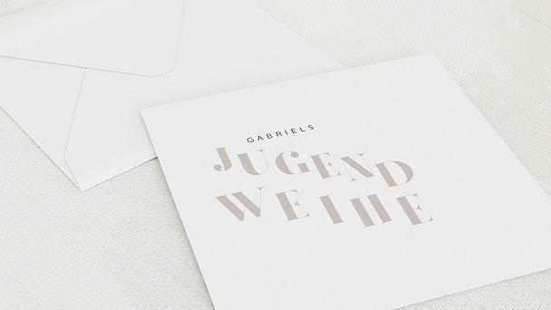 Umschlag mit Design Jugendweihe - Mein Festtag