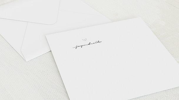 Umschlag mit Design Jugendweihe - Liebevolle Jugendweihe