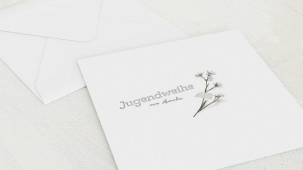 Umschlag mit Design Jugendweihe - Stationen des Lebens