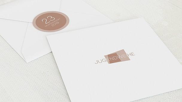 Umschlag mit Design Jugendweihe - Traumtag