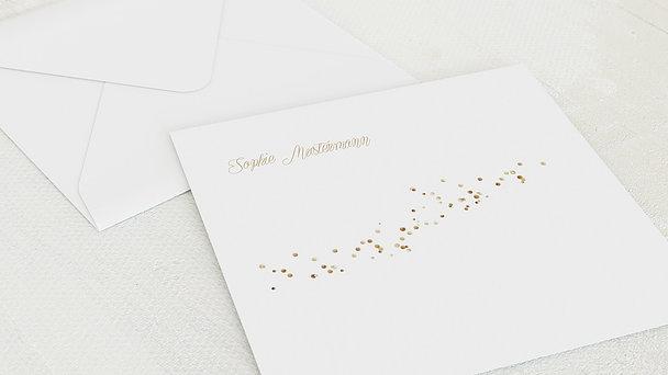 Umschlag mit Design Jugendweihe - Geflitter Jugendweihe
