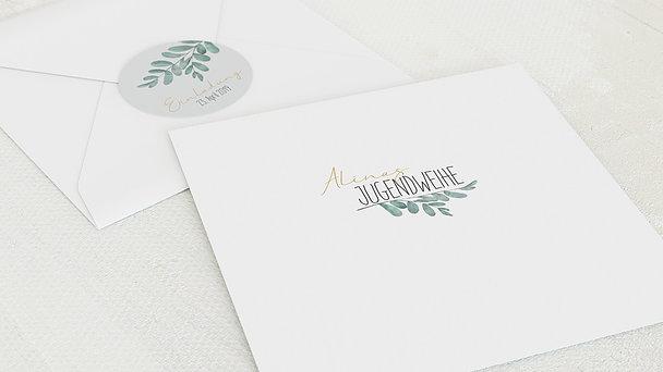 Umschlag mit Design Jugendweihe - Meine Zeremonie