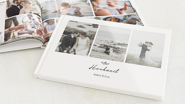 Fotobuch Hochzeit - Herzklopfen