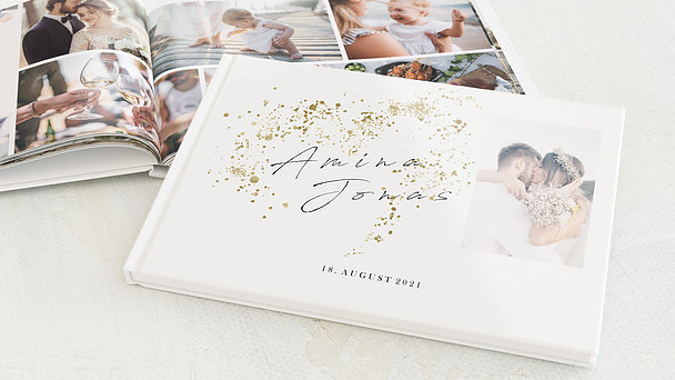 Fotobuch Hochzeit - Freudensprenkel