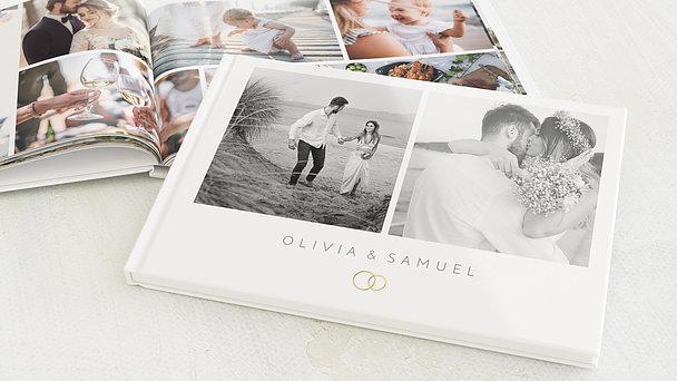 Fotobuch Hochzeit - Zarte Blicke